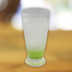 青リンゴのソーダ水